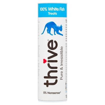 Thrive 100% White Fish Cat Treats 15g (PACK OF 6)