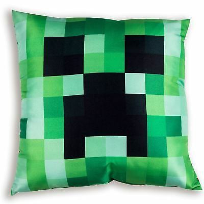 Minecraft Craft Reversible Filled Cushion Creeper & Tnt Block Childrens Kids