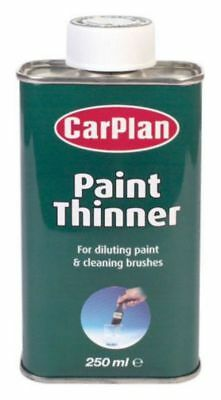 Carplan Paint Thinners For Diluting Paint And Cleaning Brushes 250Ml Bth250