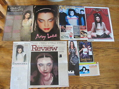 Amy Lee,evanescence  French Us Clippings,poster