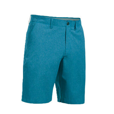 Under Armour Match Play Vented Chambray Golf Shorts - Bayou Blue - Pick Size!