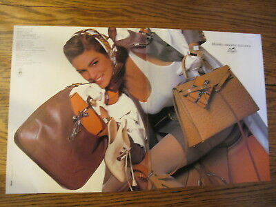 Hermes Print Ads Clippings,cindy Crawford