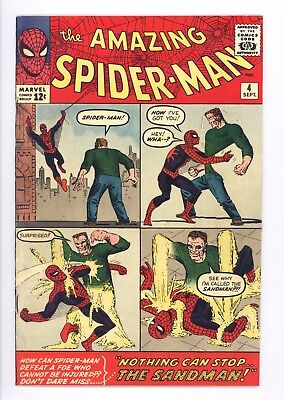 Amazing Spider-Man #4 Vol 1 Near Perfect High Grade 1st Appearance of Sandman