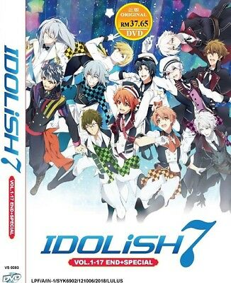 *Neu* IDOLiSH 7 TV+Special | Episodes 01-18 | English Subs | 2 DVDs (VS0393)