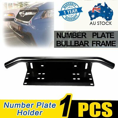 Number Plate Bullbar Frame For Driving Light Bar Mount Mounting Bracket UHF BU