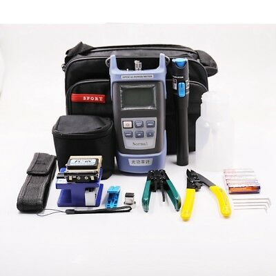 Fiber Optic FTTH Tool Kit FC-6S Cutter Fiber Cleaver Optical Power Meter