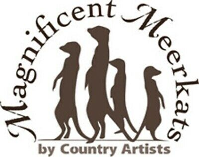 Magnificent Meerkat by Country Artists - BNIB - 27.5cm - Retired Collectable