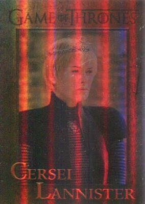 Game Of Thrones Season 7 Foil Parallel Base Card #24 Cersei Lannister