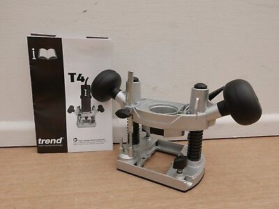 Brand New Trend T4E Plunge Router Base Assembly With Spindle Lock