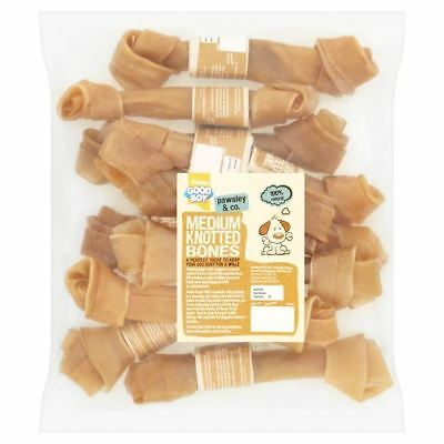 "Good Boy Medium Knotted Bones 8"" 10 per pack (PACK OF 6)"