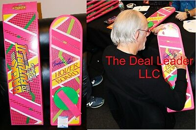 Chistopher Lloyd Signed Back to the Future 2 Hoverboard PSA JSA Beckett COA