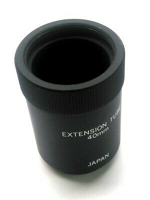 JAPAN Camera Lens Extension Tube, 40mm, C-Mount Male to C-Mount Female