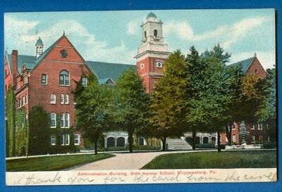 Administration Building, State Normal School, Shippensburg, Pennsylvania 1911