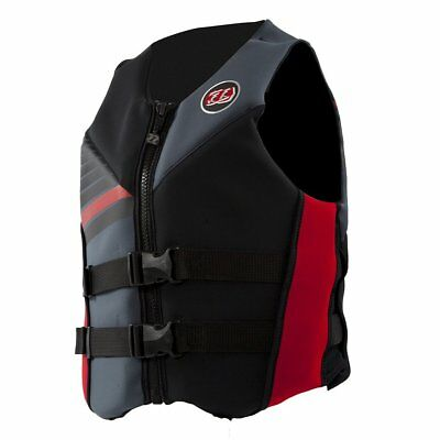 Jet Pilot The Cause PFD Life Vest Gray/Red