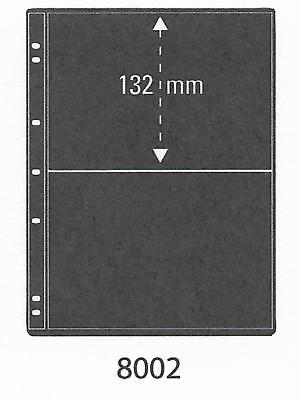 PRINZ ProFil 2 STRIP BLACK STAMP ALBUM STOCK SHEETS Pack of 5 Ref No: 8002