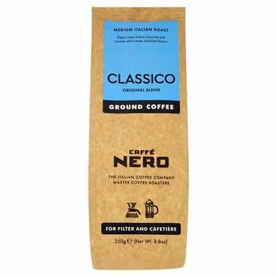 Caffe Nero Classico Filter Ground Coffee 250g (Pack of 4)