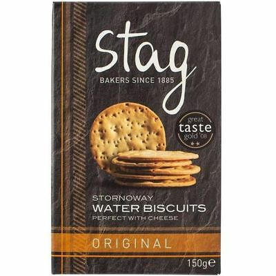 Stag Stornoway Water Biscuits 150g - Pack of 6