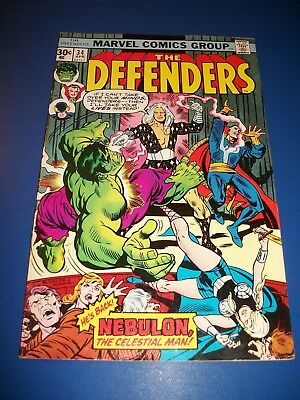 Defenders #34 Bronze age 30 Cent Rare Cover Price Variant Fine Dr. Strange WOW!