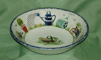Wood & Sons~ HOLLY COTTAGE Cereal/Soup Bowl~New~Made in England