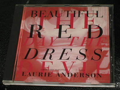 LAURIE ANDERSON - Beautiful Red Dress - CD Single w/ EXTENDED & Video Version!