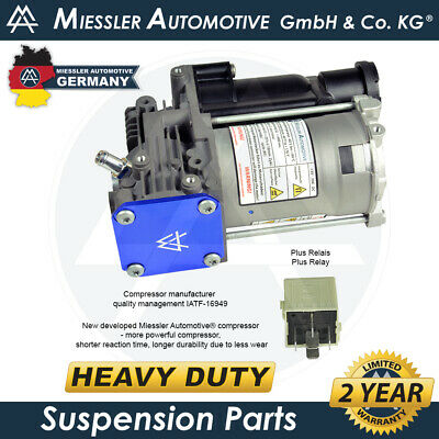 BMW 5-Series E61 Estate NEW HD Air Suspension Compressor & Relay 37106793778