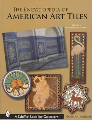 Vintage Arts & Crafts Pottery Tiles Massive Collector Guide R6 S California Area
