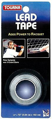 Tourna Lead Tape - Tennis Racket Customization - Free P&P