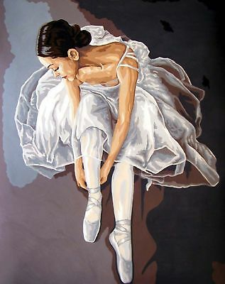 Grafitec Printed Tapestry Needlepoint Canvas - Prima Ballerina