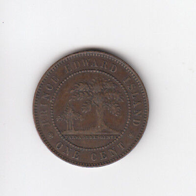 1871 Prince Edward Island Large Cent
