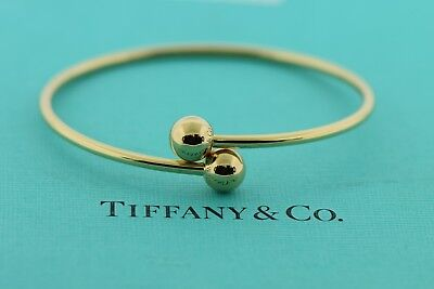 29ab342f5 TIFFANY & CO HardWear Ball Bypass 18K Rose Gold Bracelet Small ...