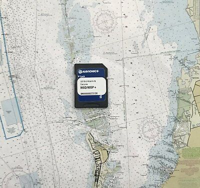 NAVIONICS PLATINUM PLUS US Mid Atlantic & Canyons MSD/905P+