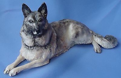 Norwegian Elkhound Keeshond Eve Pearce England 9""