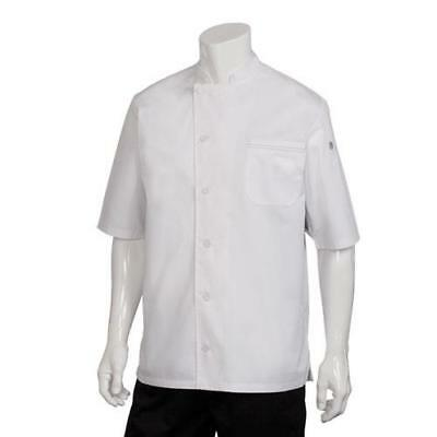 Chef Works Valais Cool Vent Chef Coat Jacket - White, Black, Gray - All Sizes