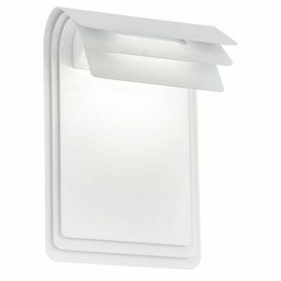EGLO Lámpara de Pared LED Exterior Sojo 5 W Color Blanco 93256 Acero Galvanizado