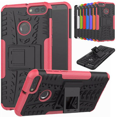 Heavy Duty Tough Strong Case Cover For Huawei Y5 Y6 Honor 7A 7C 10  Enjoy 7S 8+