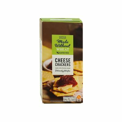 Marks & Spencer Cheese Crackers Gluten Free 100g (Pack of 6)