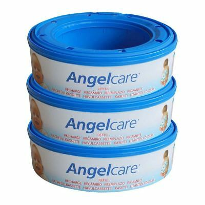 Angelcare Nappy Refill Cassettes (3) - Pack of 6