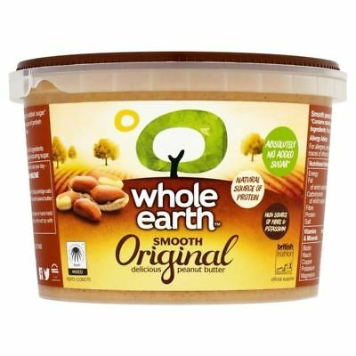 Whole Earth Smooth Peanut Butter 1kg - Pack of 6