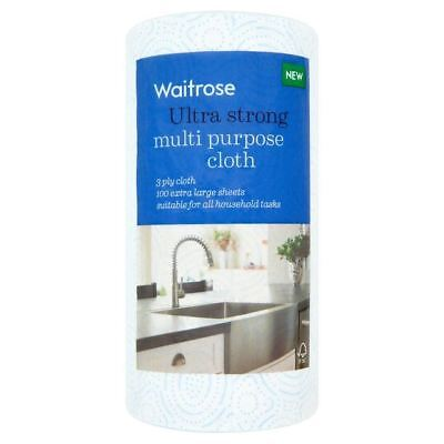 Ultra Strong Multi Purpose Kitchen Towel Waitrose (Pack of 6)