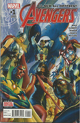 All-New All-Different Avengers #1 (Marvel 2015) First Print Bagged And Boarded