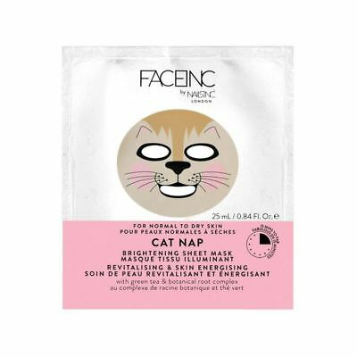 Nails Inc. Face Inc Cat Nap Mask (Pack of 4)