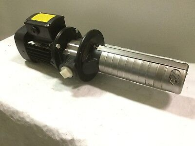 Grundfos SPK4-8/3 Vertical Multi-Stage Coolant Pump w/Motor .37kW 220V 3Ø USA
