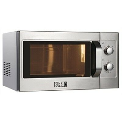 Buffalo Manual Commercial Microwave Oven 1100W 26 litre - GK643 - Catering