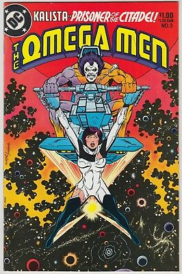 The Omega Men #3, Dc Comics, Vf/nm Condition, 1St Appearance Of Lobo