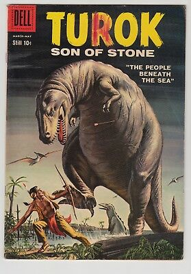 Turok, Son Of Stone #15 1959 Dell Vg Condition