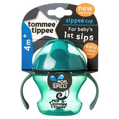 Tommee Tippee Non Spill Weaning Sippee Cup for Baby's First Sips, Ages 4m+