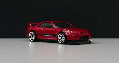 Hot Wheels 2018 2019 Nissan Skyline Gt-R R33 Exclusive Red Edition Unspun Proto