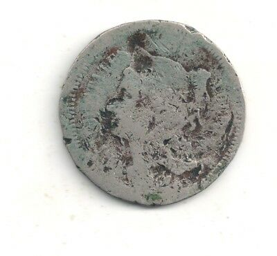1867 three ( 3 ) cent Nickel one coin