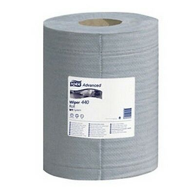 "Tork 132451 4-Ply Advanced 440 Centre tirer ESSUIE-GLACE - Bleu, 10"" x 15.75"""