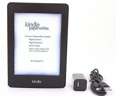 Amazon Kindle Paperwhite, 1st Generation, WiFi - Black   50-1A